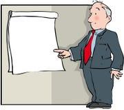 Flip chart presentation Royalty Free Stock Image