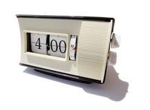 Flip clock numbers Stock Photos