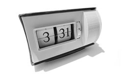 Flip clock numbers Stock Images