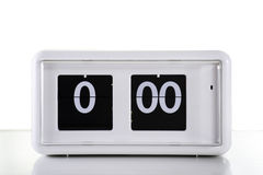 Flip clock Royalty Free Stock Image