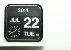 Flip clock Stock Photography