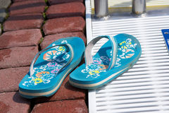 Flip-flop fotografie stock libere da diritti
