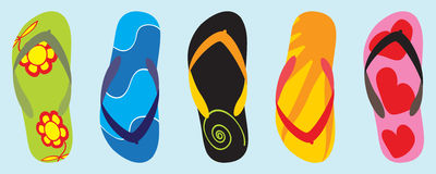 Flip-flop Immagini Stock