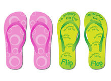 Flip flop Royalty Free Stock Images