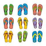 Flip-flop illustrazione vettoriale
