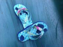Flip-flop Fotografia Stock Libera da Diritti