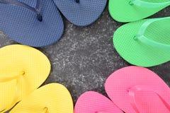 Flip Flop Background Royalty Free Stock Image