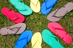 Flip-Flop Circle Royalty Free Stock Photos