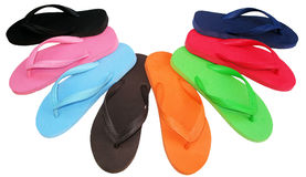 Free Flip Flop Colorful Royalty Free Stock Images - 17225689