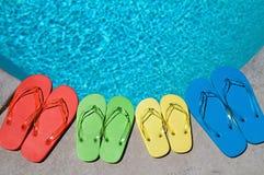 Flip-flop del verano Imagen de archivo libre de regalías