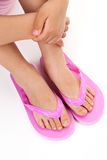 Flip flop sandal Royalty Free Stock Photos