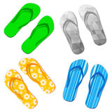 Flip Flop Sandals stock illustrationer