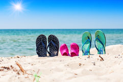 Flip flop sandals Royalty Free Stock Photo