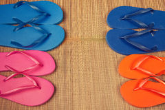 Flip flop sandals Royalty Free Stock Photos