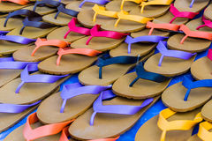 Flip flop sandals retro style Royalty Free Stock Photo