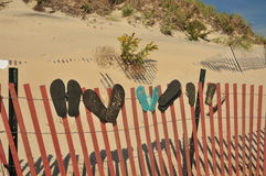 Flip Flop Storage Royalty Free Stock Photography