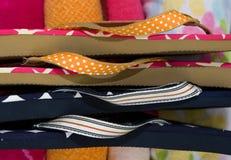 Flip-flop y toallas Fotos de archivo libres de regalías