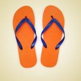 Flip-flops imagem de stock