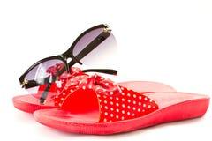 Flip-flops for beach Stock Photo