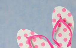 Flip flops close up Royalty Free Stock Image