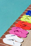 Flip flops Royalty Free Stock Photos