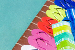 Flip flops Stock Photos
