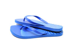 Flip flops, isolated. Over white, clipping path stock images