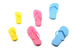 Flip flops isolated on white background Stock Photography