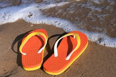 Flip-flops. Royalty Free Stock Photo