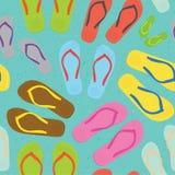 Flip flops pattern Stock Photos