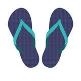Flip flops, sandals, summer sandals Stock Images