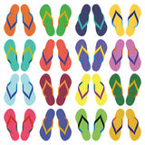 Flip flops, sandals, summer sandals Stock Photo