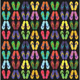 Flip flops, sandals, summer sandals Royalty Free Stock Images