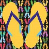 Flip flops, sandals, summer sandals Royalty Free Stock Image