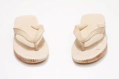 Flip-flops sujos Foto de Stock Royalty Free