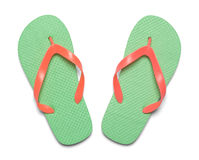 Free Flip Flops Top View Stock Photography - 76065772