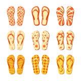 Flip-flops vector Stock Photo