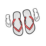 Flip-flops Royalty Free Stock Photos