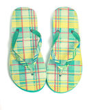 Flip Flops. With a vintage effect on white royalty free stock images
