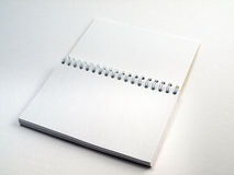 Flip note book open 1 Royalty Free Stock Image