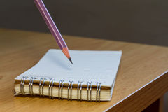 Flip notebook Royalty Free Stock Photography