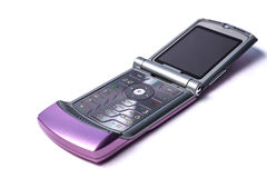 Flip phone Royalty Free Stock Photo