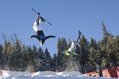 Flip in the sky Stock Photo