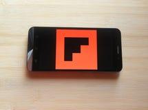 Flipboard app stock foto