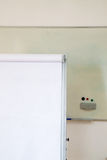 Flipchart and whiteboard Stock Images