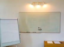 Flipchart and whiteboard Stock Photography