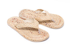 Flipflop Made By Water Hyacinth. Stock Images