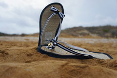 FlipFlop in the summer sun Stock Photos