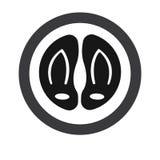 Flipflop und Pantoffel lizenzfreie abbildung