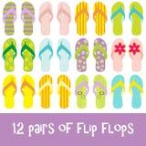 Flipflops Lizenzfreies Stockfoto